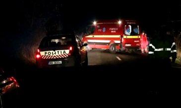 Un tanar a murit si un copil a fost luat cu elicopterul SMURD in urma unui grav accident in Ialomita