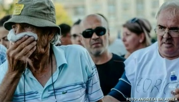 Familia protestatarului mort asteapta raspunsuri. Sotia este distrusa si face dezvaluiri dramatice