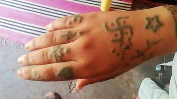 INUMAN! Au rapit-o, au torturat-o, au violat-o, dupa care au acoperit-o cu tatuaje cu svastici!