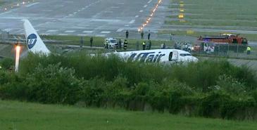 Un avion cu 170 de persoane la bord a luat foc pe aeroportul din Soci, dupa ce a ratat aterizarea. Un om a murit, iar alti 18 sunt grav raniti
