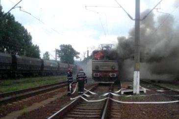 Clipe de panica intr-un tren, in Brasov! Calatorii au fost evacuati. Exista pericol de explozie