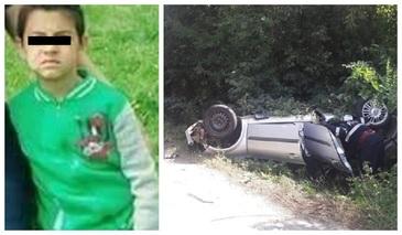 Viorel, baietelul in varsta de 8 ani, ranit in accidentul din Bolovani, a murit. Medicii au facut anuntul trist