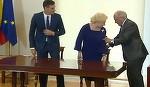 Dupa vizita din Spania, Viorica Dancila a ajuns direct la Topoloveni, sa sarbatoreasca magiuniul de prune