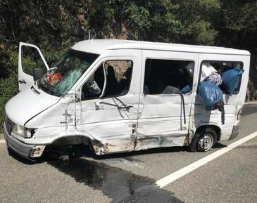 Accident cumplit intre Valcea si Sibiu! Sunt peste 13 raniti. A fost activat planul rosu de interventie