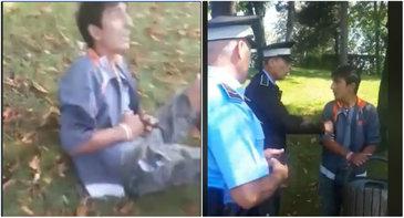 Cazul baiatului batut de politistul local a intrat in atentia protectiei copilului. Si Politia Locala Sector 3 a demarat o ancheta interna