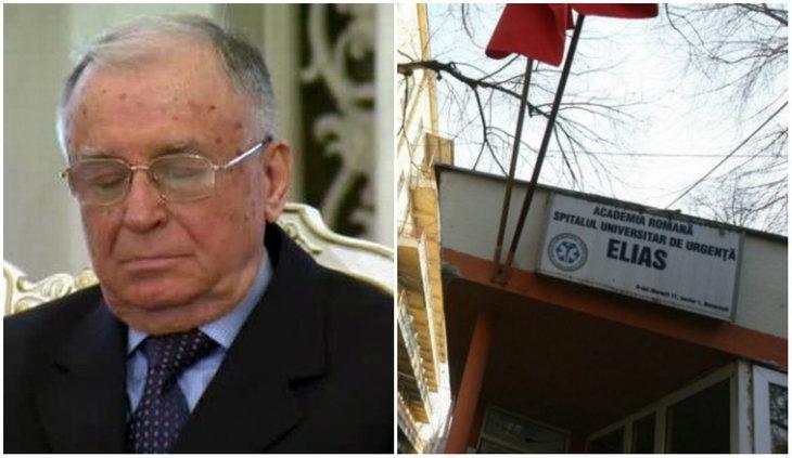 Ion Iliescu a ajuns la spital din cauza problemelor cu tensiunea! Ce au spus medicii
