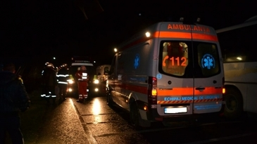 Accident cu o victima in Arges. Un barbat a murit dupa ce o masina a lovit motocultorul pe care omul in conducea