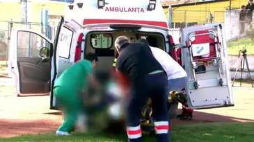 Accident cumplit pe sosea! O fetita de 9 luni si fratiorul ei de numai 2 ani sunt in stare grava la spital ! Mama lor era la volan