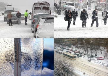 A fost inregistrata prima ninsoare din aceasta toamna! La Balea Lac a nins si se anunta temperaturi cu minus in mai multe zone de munte
