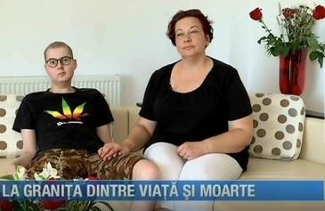 La granita dintre viata si moarte! Dupa un tratament care nu a dat roade in Romania, Cristi a ajuns in strainatate, insa prea tarziu