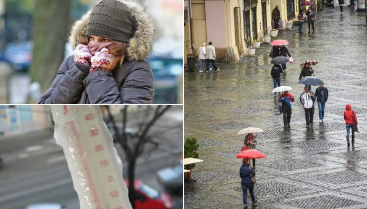 Vremea se raceste brusc incepand de marti. Prognoza meteo pentru urmatoarele doua saptamani