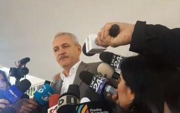 Liviu Dragnea a venit la vot singur. Ce a declarat preşedintele PSD la ieşire!