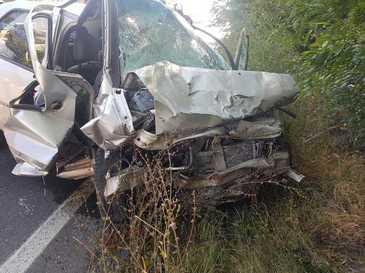Trei persoane, printre care şi un copil de cinci ani, rănite în Contanţa, într-un accident în care s-au ciocnit două maşini