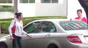 În timp ce Alina Bica este arestată în Costa Rica, Adriean Videanu este liniştit în ţară! Achitat în vară, fostul ministru se distrează alături de familie
