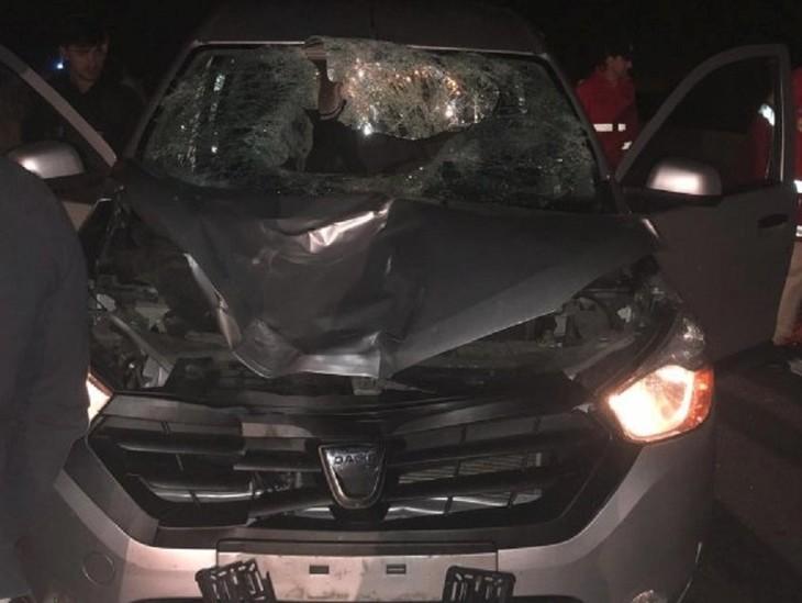 Accident şocant pe DN1! Un bărbat care a vrut să se sinucidă a fost lovit de 4 maşini