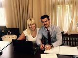 Logodnicul Elenei Udrea, amor pătimaş cu o blondă celebră din televiziune! Imaginile care au deranjat-o pe Elena Udrea!