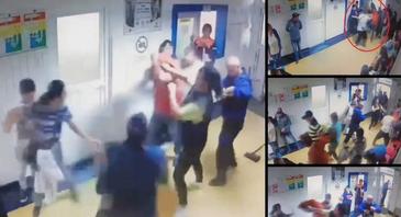 Clipe de panică într-un spital din Buzău! Mai mulţi pacienţi au sărit la bataie şi au folosit gaze lacrimogene