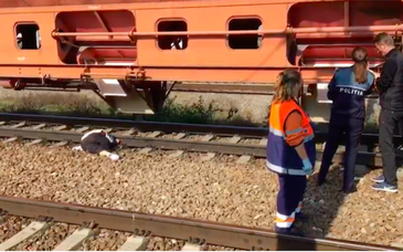 Accident groaznic în Constanţa! O bătrână a fost decapitată de tren, chiar în gară