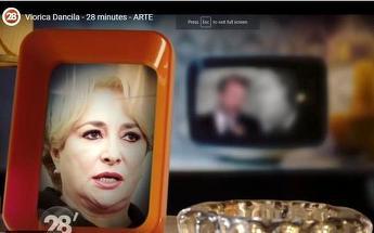 Emisiune satirică despre Viorica Dăncilă şi Liviu Dragnea, la un post TV din Franţa. Ipostazele umilitoare în care au fost prezentaţi cei doi politicieni.