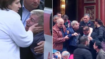 Aurică Beldeanu a fost transportat la spital! I s-a făcut rău la priveghiul lui Ilie Balaci