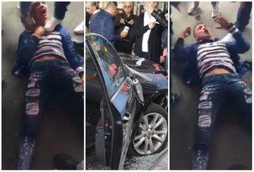"""Primele imagini cu autorul atentatului din Brăila! Ce a declarat tânărul! """"Ai să plângi! Trebuie să curgă sânge pentru ţara asta!"""""""