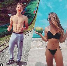 E nebunie pe Instagramul lui Iulian, după ce şi-a asumat relaţia cu Ana Gonzalez de la Exatlon! Ce înseamnă #iuliana?