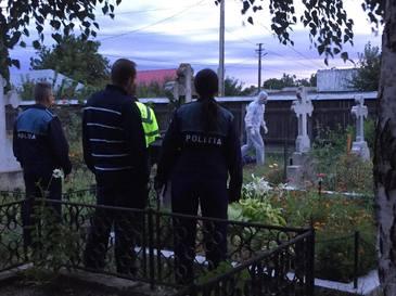 Descoperire macabră! Cadavrul unui bărbat a fost găsit în toaleta unui cimitir din Buzău