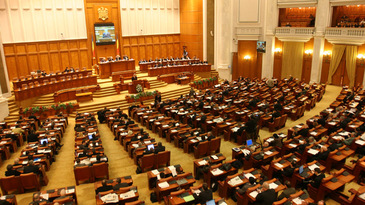 Noul Parlament se intruneste marti. Leon Danaila (83 ani) si Miron Ignat (75 ani), presedinti temporari ai celor doua Camere