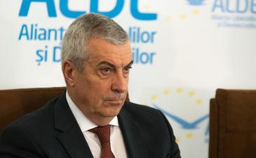 """Calin Popescu Tariceanu, liderul ALDE, spune ca partidul lui nu se va implica in Referendumul pentru familie. """"Fiecare sa voteze cum vrea, cum ii spune constiinta!"""""""