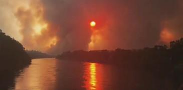 Incendii devastatoare in California. 3.500 de pompieri se lupta cu incendiile extrem de violente