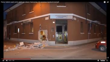Video! Mai multi romani sunt urmariti international pentru furt de bancomate. Politia din Italia a cerut ajutor international ca sa prinda banda de hoti
