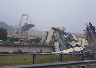 Bilant sumbru, in urma surparii unui pod din Genova! Sunt cel putin 22 morti pana in acest moment