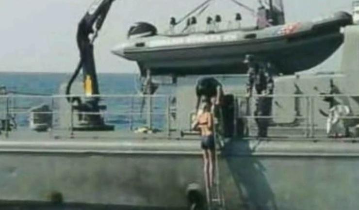 Stewardesa care a supravietuit 10 ore in mare! A baut atat de mult incat a cazut de pe vasul de croaziera