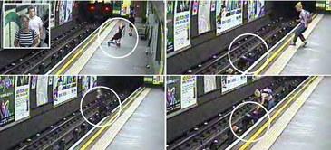 O mama si copilul ei au supravietuit miraculos dupa ce au cazut pe sinele de la metrou! Cum au reusit sa scape cu viata este uluitor