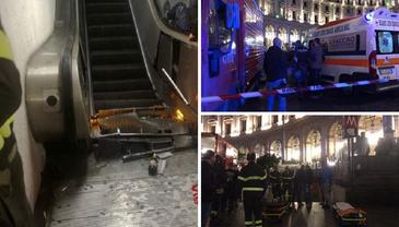 Incident dramatic la Roma! Scara rulantă de la metrou a cedat. Sunt cel puţin 20 de victime. A fost activat planul roşu de intervenţie