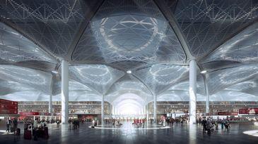 Istanbulul are de astazi unul dintre cele mai mari si mai frumoase aeroporturi din lume! Mega aeroportul va gazdui peste 100 de companii aeriene
