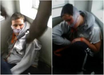 Patru tineri au batut si au torturat un barbat cu dizabilitati, in timp ce transmiteau intreaga scena live pe Facebook