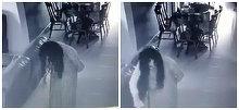 Imagini inspaimantatoare suprinse de camerele de supraveghere dintr-o locuinta. Ce facea menajera noaptea pare desprins dintr-un film de groaza