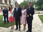 Consiliera lui Klaus Iohannis s-a recasatorit vara trecuta, dar nu a facut partajul cu primul sot! Fosta prezentatoare TV Madalina Dobrovolschi si barbatul de care s-a despartit acum 3 ani au in comun doua terenuri!