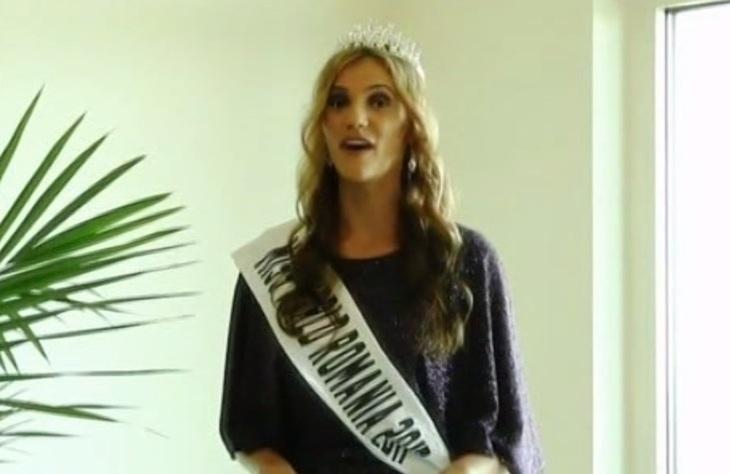 O tanara din Maramures, concurenta la Miss World! Cum arata Mihaela Bosca