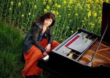 Cat de frumoasa s-a facut fata Mihaelei Ursuleasa! Marea pianista a murit in 2012 la Viena, la doar 33 de ani, din cauza unui atac cerebral FOTO