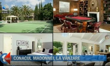 Conacul în care Madonna a trăit mai bine de 10 ani, scos la vânzare pe o sumă fabuloasă. Iată cum arată locuinţa