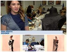 Irina Akkaya, designerul care combina stilul origami cu moda intr-un mod spectaculos! Creatiile ei sunt la mare cautare in intreaga lume