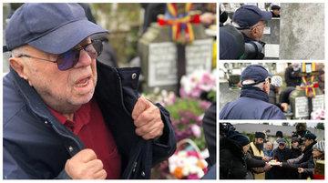 Alexandru Arşinel, un monument de durere la parastasul Stelei Popescu! Imaginile care nu mai au nevoie de niciun comentariu!