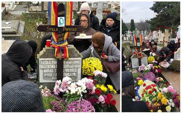 Ce apare în imagini, la nici doi metri de mormântul Stelei Popescu? Detaliile pe care nu le-a observat nimeni la parastasul actriţei! Durerea e uriaşă să vezi asemenea lucruri