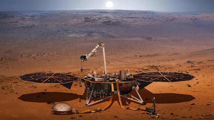 Descoperire uluitoare pe planeta Marte. Au fost gasite molecule organice in roci, ceea ce poate dovedi ca planeta rosie a gazduit o data viata.