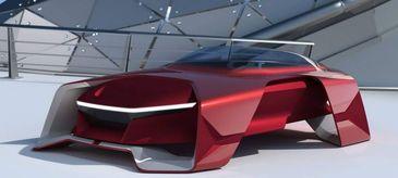 Dacia EF-Vision 2050, masina SPATIALA accesibila made in Romania! Asa ar putea arata Dacia in viitor!