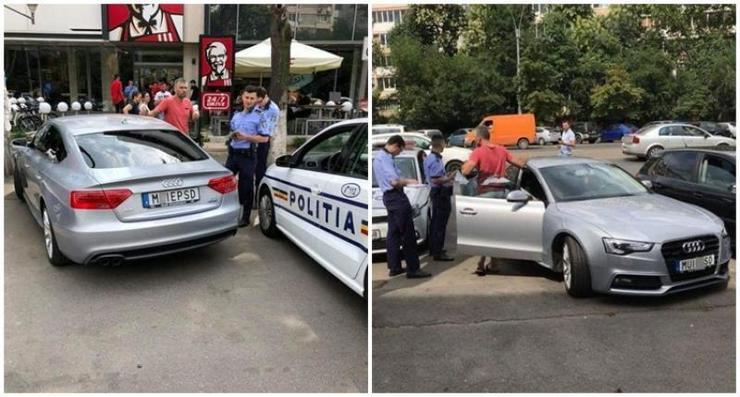 Celebra masina cu numere anti-PSD a fost scoasa la vanzare. Suma uriasa pe care o cere proprietarul