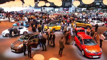 Am fost la Salonul Auto Bucuresti! Am gasit aici peste 350 de super modele de autoturisme