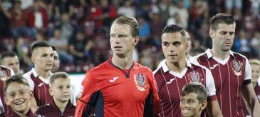 Arlauskis şi Omrani, excluşi din lotul CFR-ului înainte de meciul din Armenia.